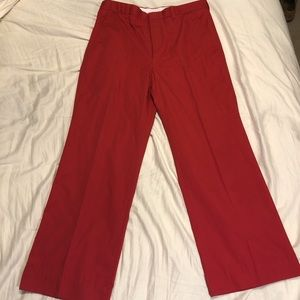 Other - Vintage Red Pants by Munsingwear